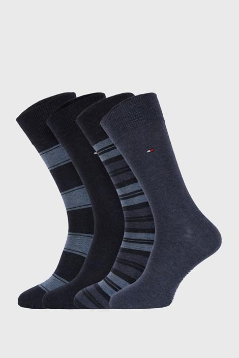 4 PÁR kék zokni Tommy Hilfiger