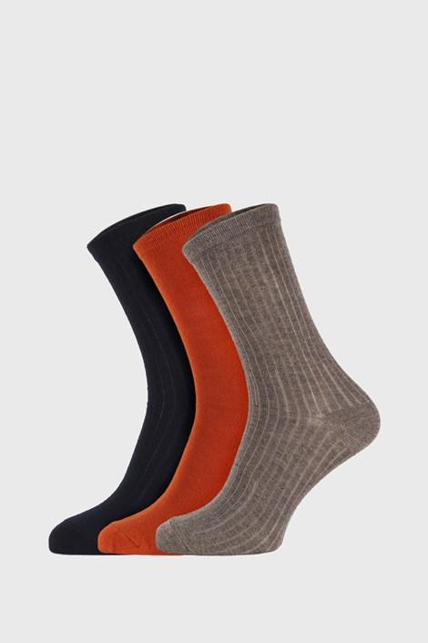 3 PÁR Colored gyermek zokni