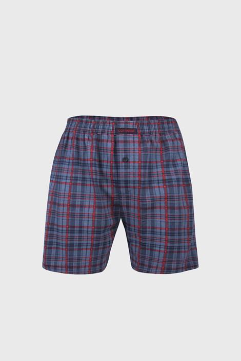 Comfort IV férfi alsónadrág kék, kockás mintás