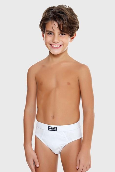 Basic fiú alsó fehér