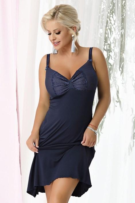 Gina Navy blue női hálóing