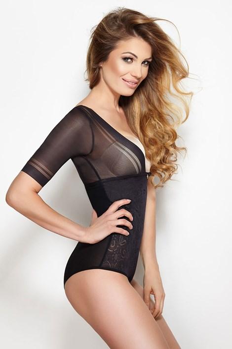 ec1e9ea1f0 Glossy, alakformáló, fekete női body | Astratex HU