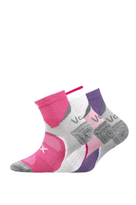 Maxterik lányka zokni, 3 pár 1 csomagban