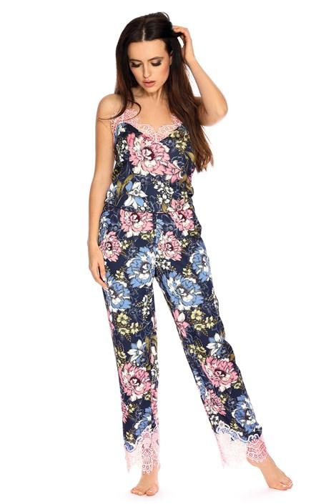 Elen női pizsama, szaténból