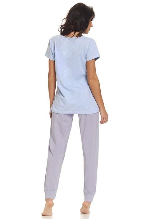 b9b5d2239e Best Mom Blue - kismama szoptatós pizsama   Astratex HU