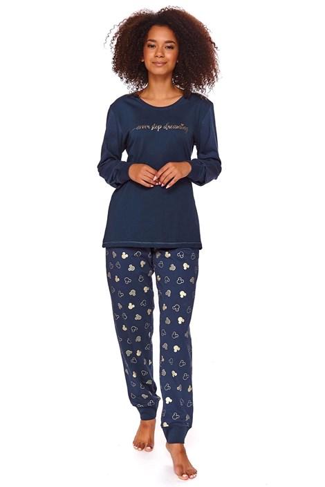 Alex női pizsama, kék