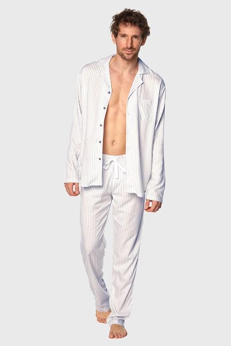 Bézs színű férfi pizsama Henry