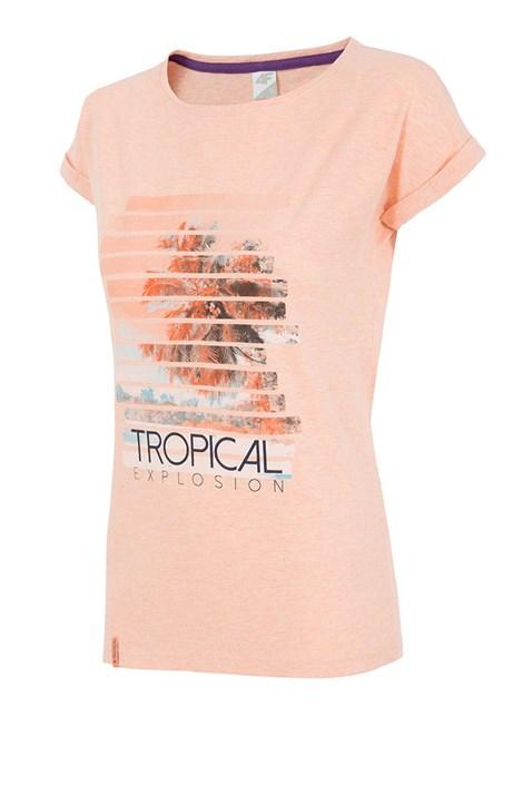 4f Tropical Coral női sportpóló