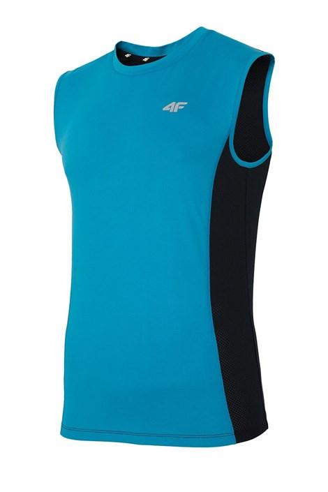 4F Dry Controll Blue férfi sport póló