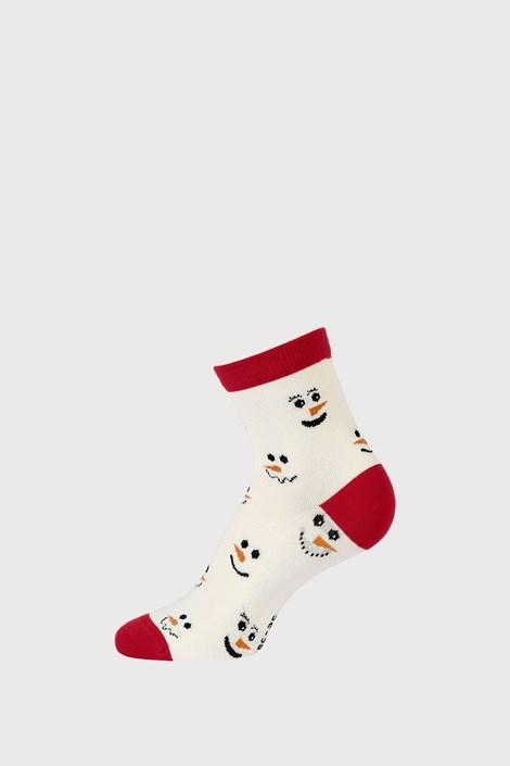 Gyermek karácsonyi zokni, Hóember