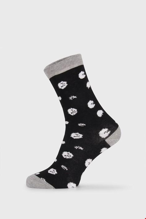 BlackWhite női zokni, fekete