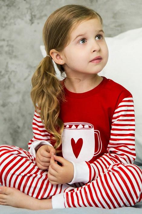 Heart lányka pizsama