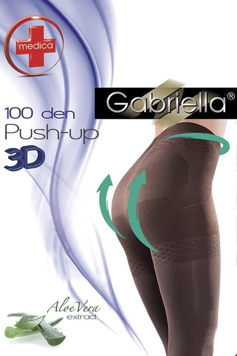 Harisnyanadrág Push-Up, 100 DEN