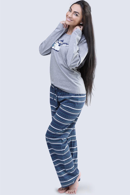 Penguin - női pamut pizsama 07fdba738c