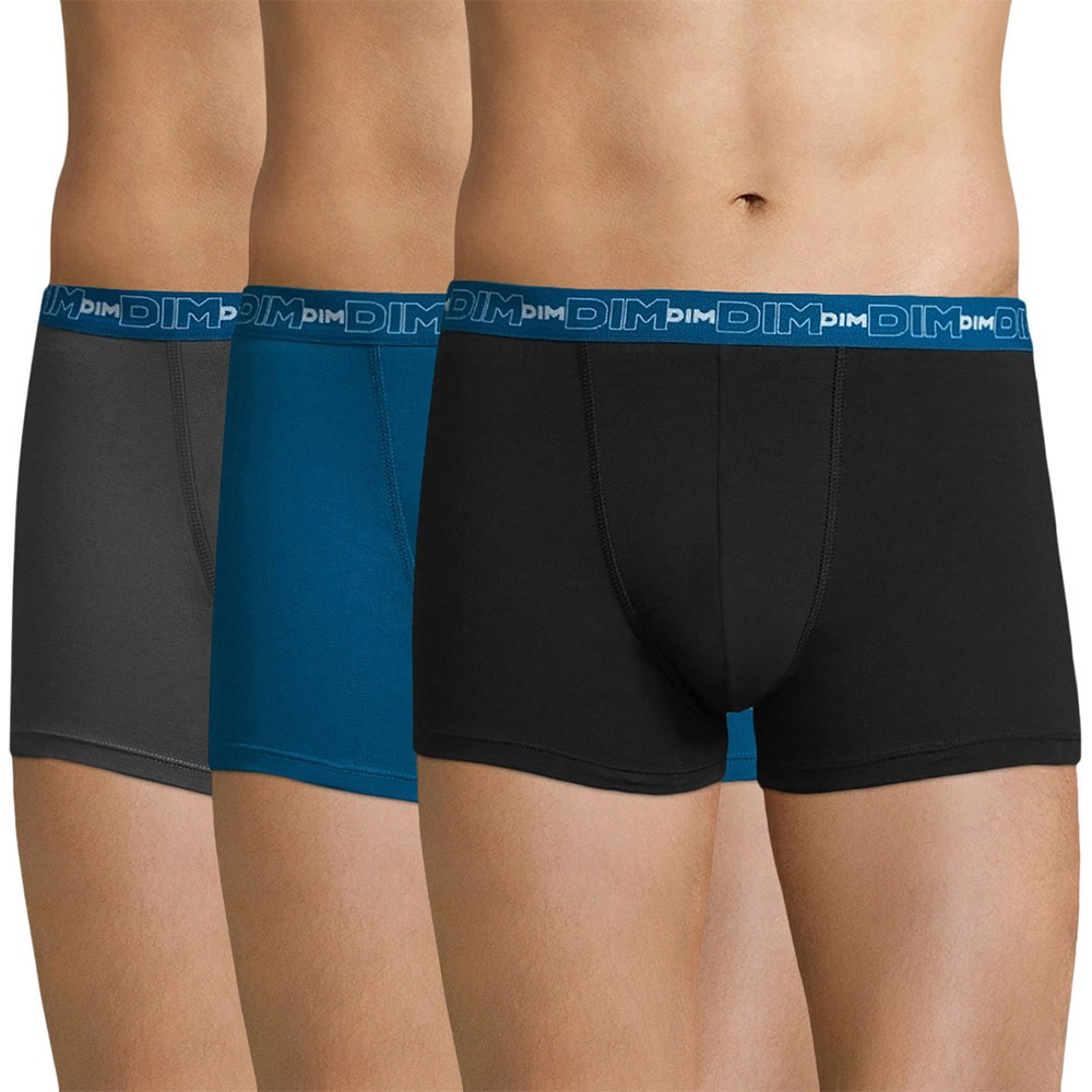 56311d6a99 DIM Cotton Strech férfi boxeralsó, 3 db 1 csomagban | Astratex HU