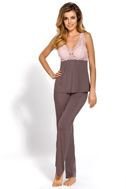 Caroline - elegáns női pizsama  a167e7ccbb