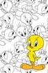 Tweety gyermek fürdőlepedő Tweety_TIP_01