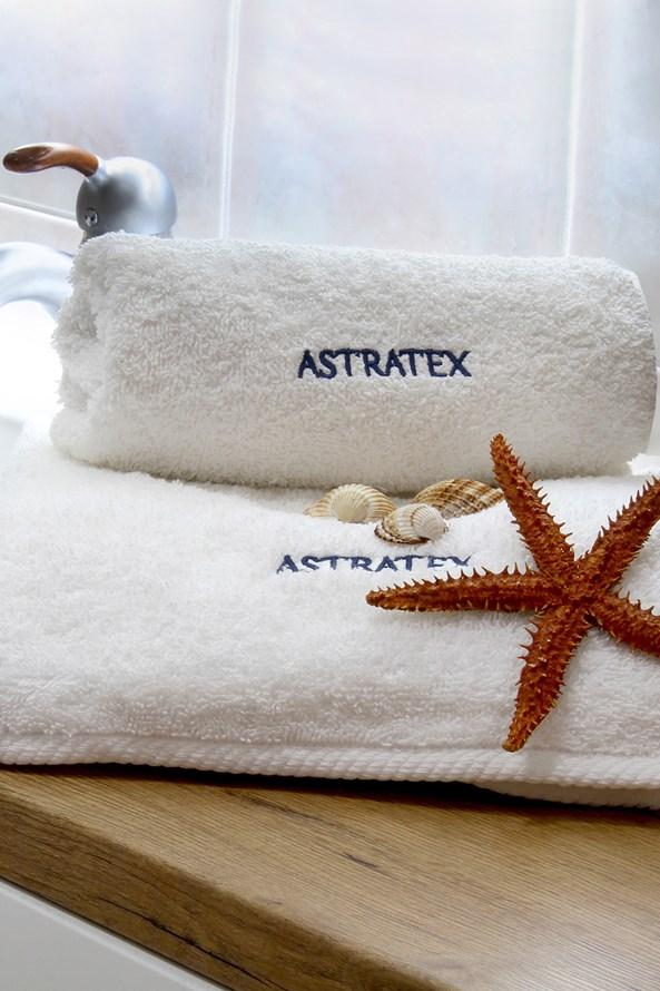 ASTRATEX ajándék törölköző szett, fehér