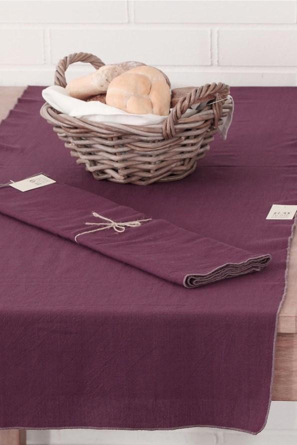 Home Design asztalközép díszszegélyekkel, lila