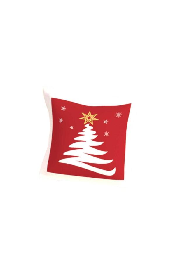 Dekorációs kispárna töltettel, Karácsonyfa