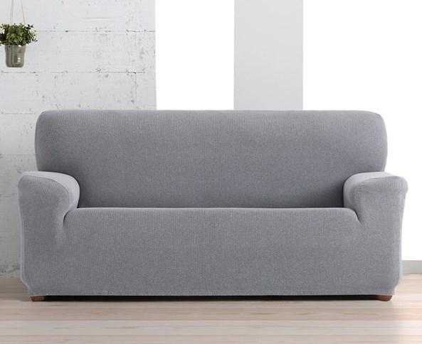 Creta háromszemélyes kanapéhuzat, fekete-fehér