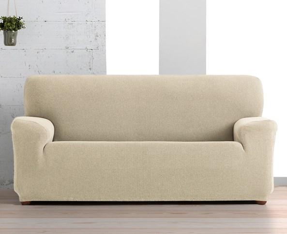 Creta háromszemélyes kanapéhuzat, bézs