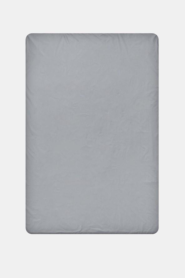 Pamut lepedő gumírozott szélek nélkül, szürke