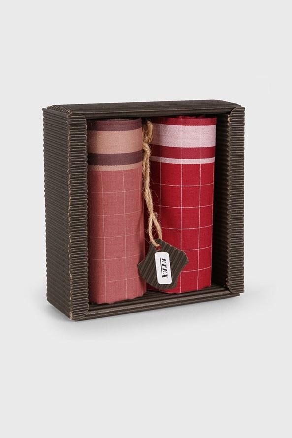 Zsebkendők ajándék szettben, Elegant