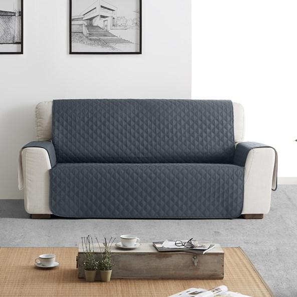 Moorea kétszemélyes kanapéhuzat, szürke