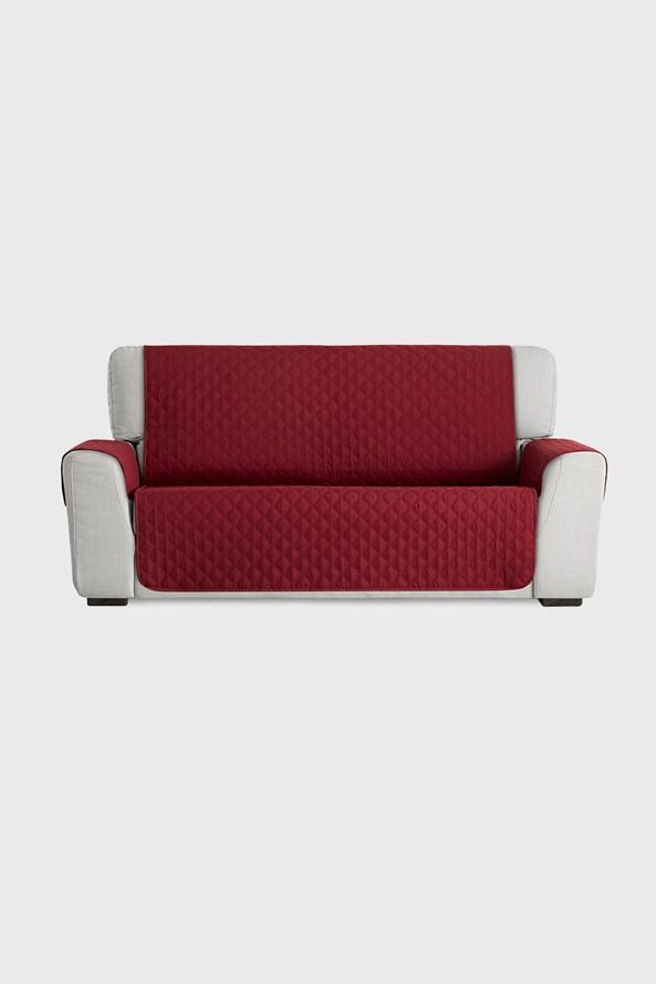Moorea bútorhuzat kétszemélyes kanapéra, piros
