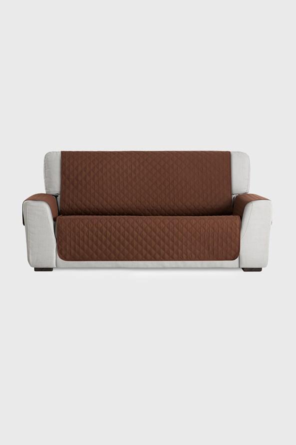Moorea bútorhuzat háromszemélyes kanapéra, barna