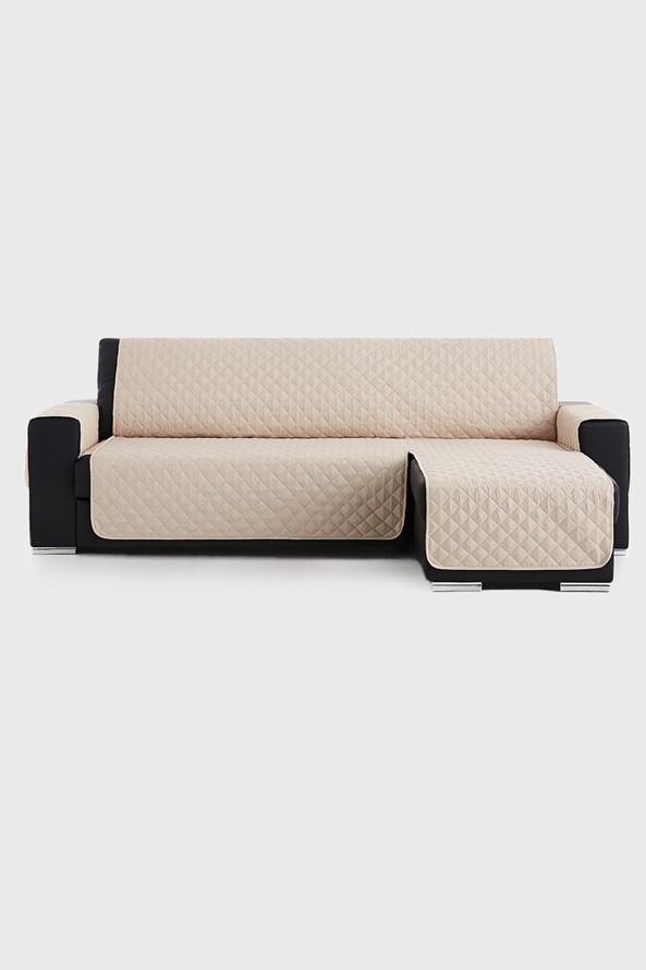 Moorea bútorhuzat sarokkanapéra, bézs - jobb oldali