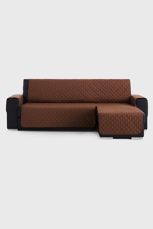Moorea bútorhuzat sarokkanapéra, barna - jobb oldali