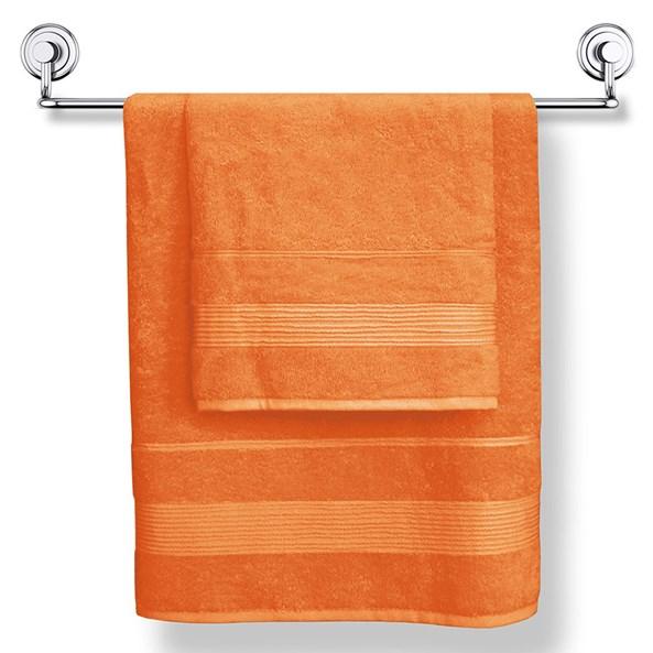 Moreno bambusz törölköző narancs szín