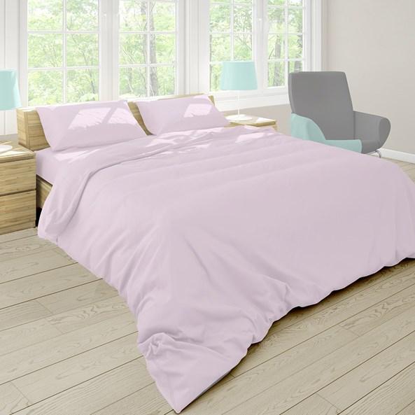 Pastel ágyneműhuzat, lila