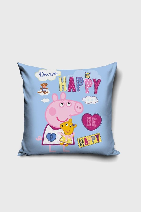 Peppa Be Happy kispárnahuzat