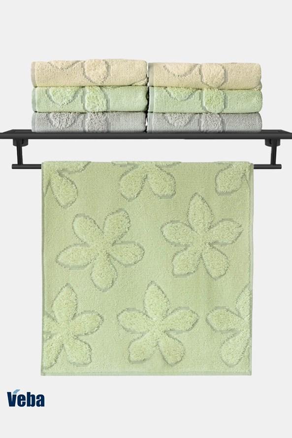 VEBA Primavera luxus törölköző, zöld