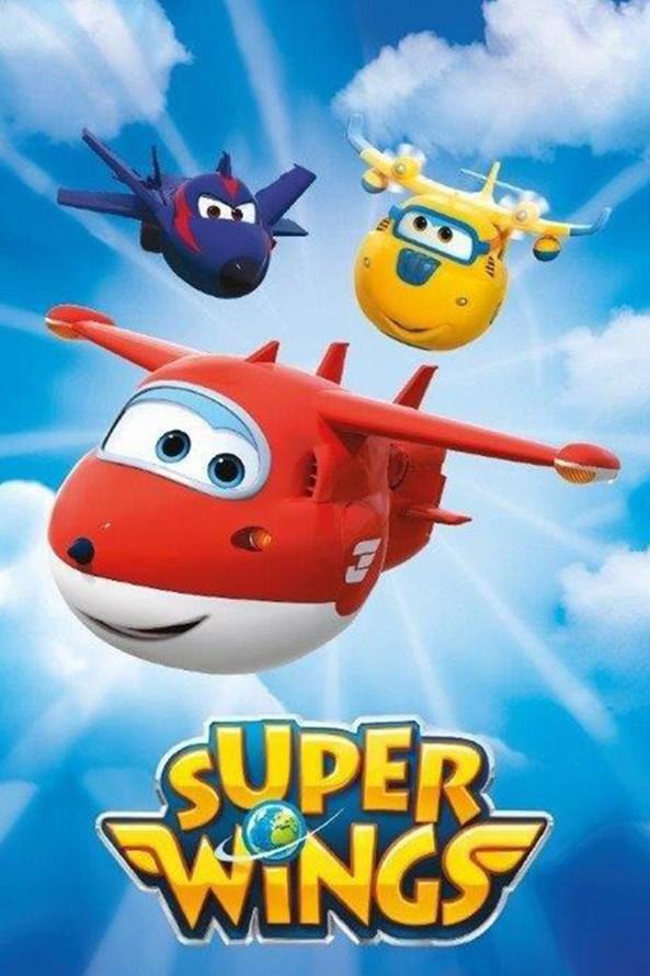 Super Wings gyermek törölköző
