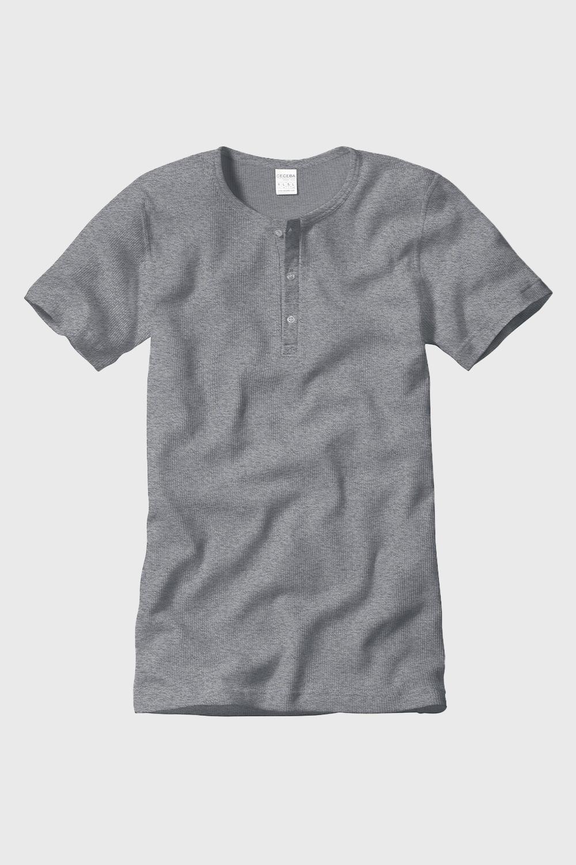 CECEBA férfi póló bordázott anyag fehér M