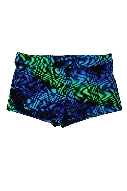 LENTIGGINI Noel férfi úszónadrág zöldes-kék 5