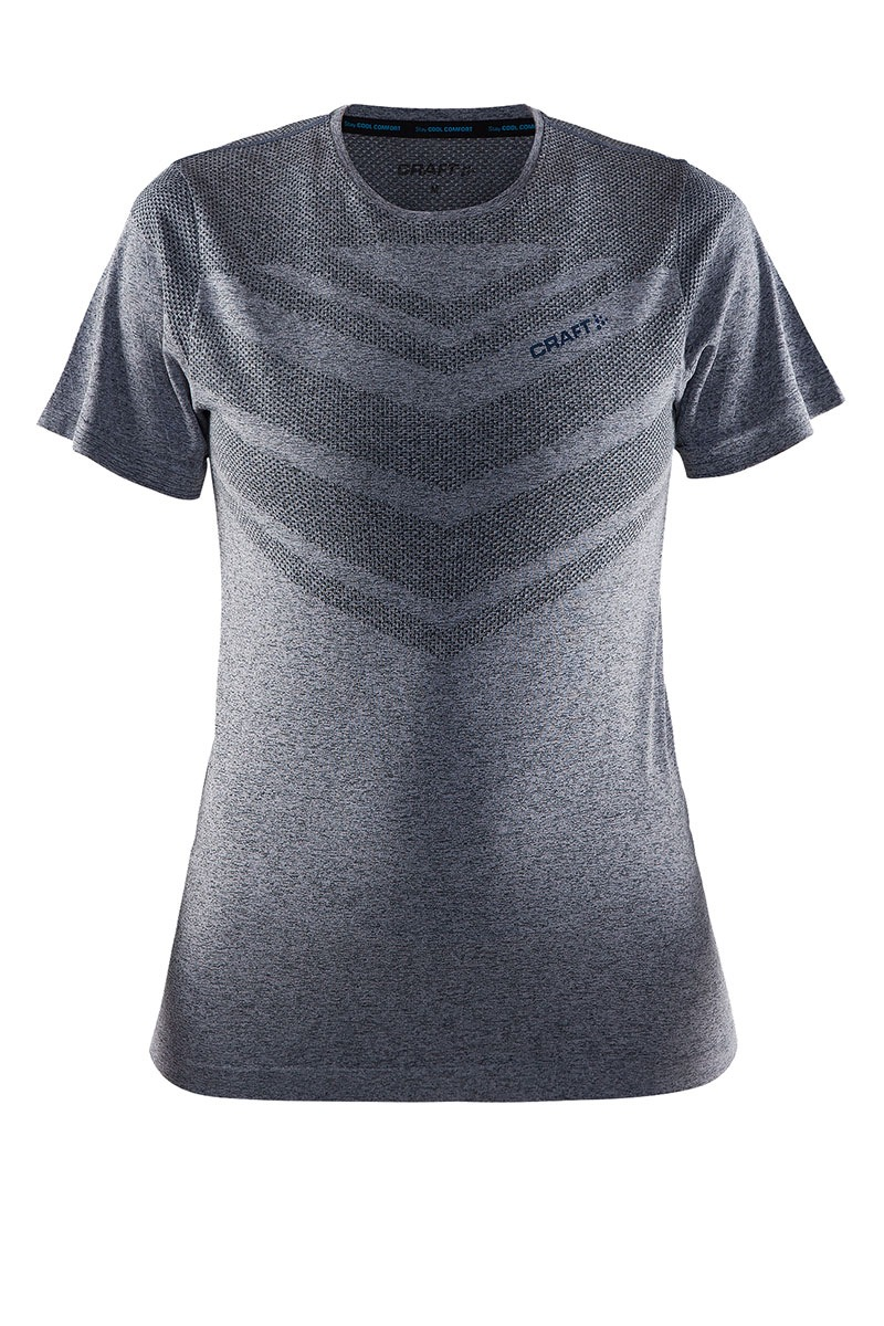 Craft Cool Comfort funkcionális női póló szürkés-lila XS