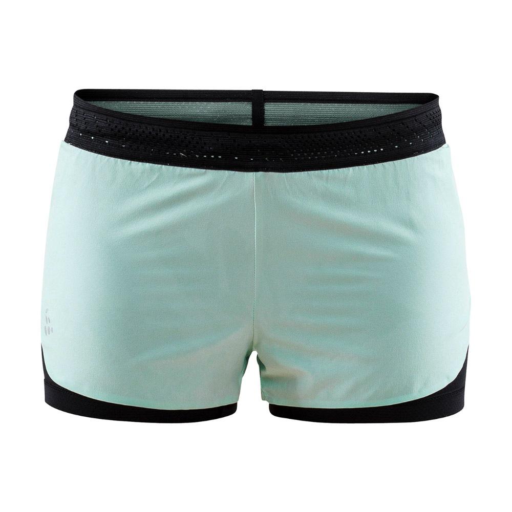 CRAFT Nanowight Shorts női rövid nadrág világoszöld XS