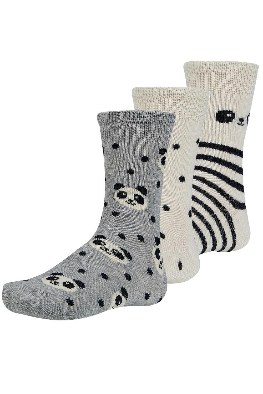 Chinn gyerek zokni, 3 pár 1 csomagban színes 26-28