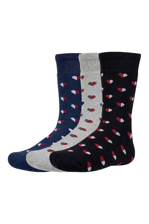Yrako meleg gyerek zokni, 3 pár 1 csomagban színes 26-28
