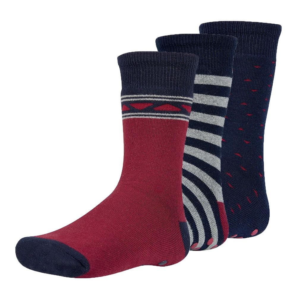 Reant meleg gyerek zokni, 3 pár 1 csomagban színes 26-28