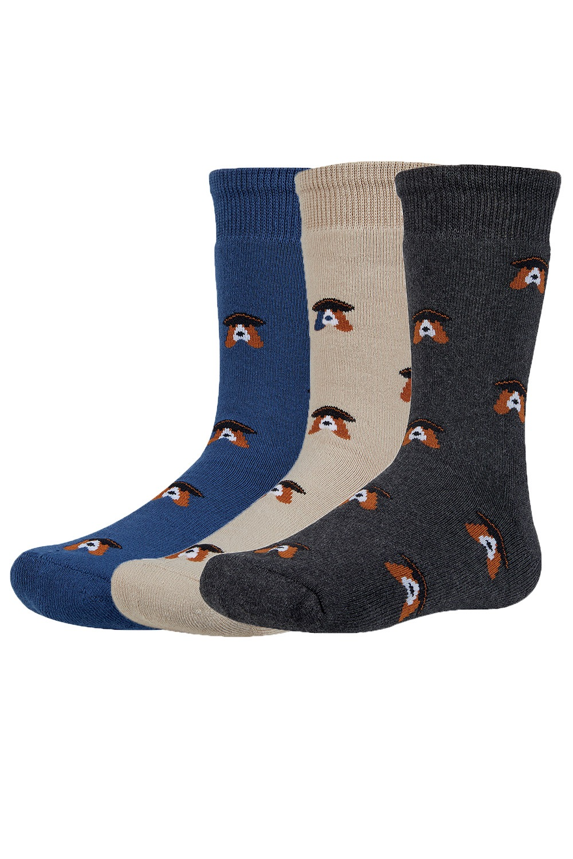 Verth meleg gyerek zokni, 3 pár 1 csomagban színes 26-28