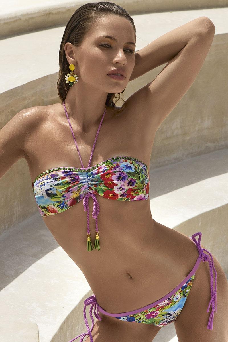 Abella luxus női fürdőruha felső része merevítő nélkül színes 36