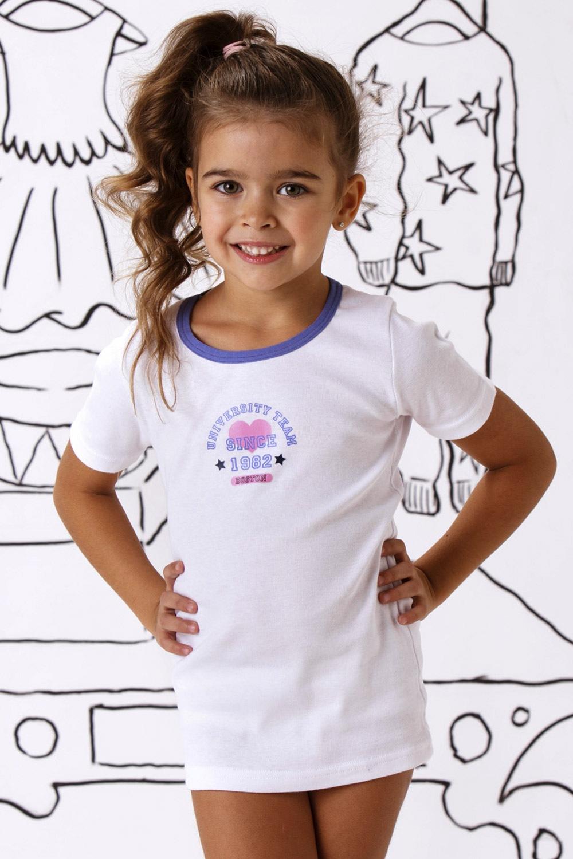 Julie pamut lányka póló fehér 4