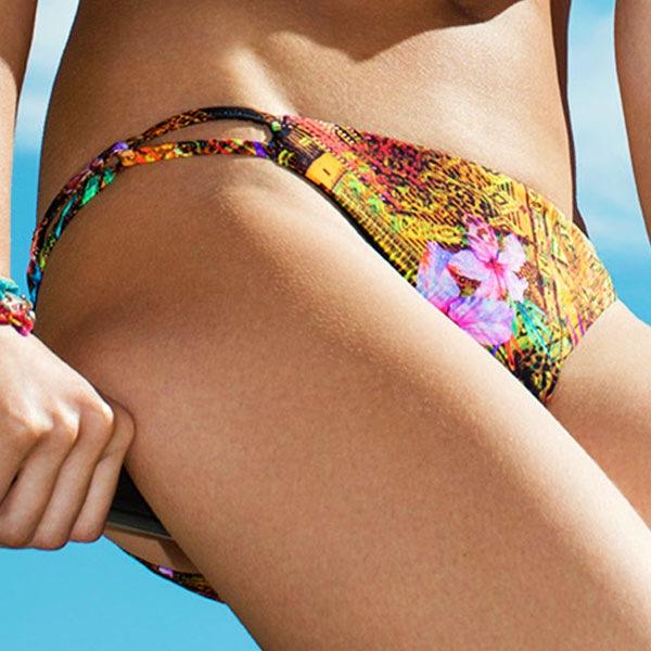 Safari Beach női fürdőruha alsója színes XL