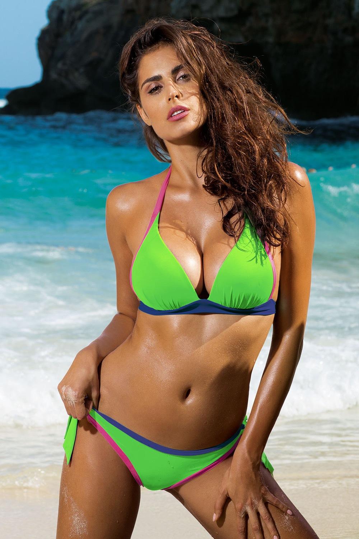 Alexis kétrészes női fürdőruha színes 36